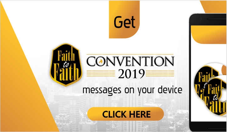 Faith to Faith Convention 2019 Advert